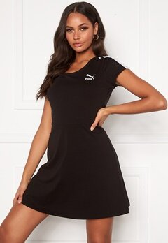 PUMA Classic Shortsleeve Dress Black Bubbleroom.eu