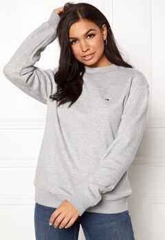 TOMMY JEANS Classics Sweatshirts 038 LT Grey Bubbleroom.eu