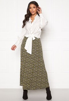 co'couture Alina Flower Skirt Mustard Bubbleroom.eu