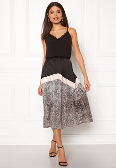 co'couture Cobra Plisse Skirt Nude Rose Bubbleroom.eu