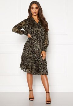 co'couture Gemma Frill Dress Army Bubbleroom.eu