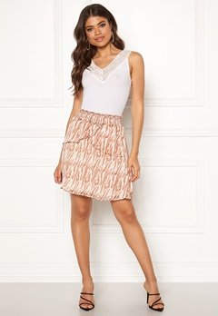 co'couture Golden Tiger Skirt Off White Bubbleroom.eu