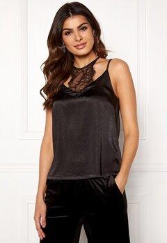 co'couture Mirage Lace Top Black Bubbleroom.eu