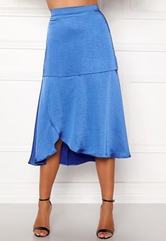co'couture Mirage Sateen Skirt New Blue Bubbleroom.eu