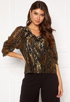 co'couture Turner Lace Blouse Gold Bubbleroom.eu