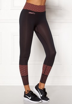 Craft Core Block Tights Dahlia/Black Bubbleroom.eu