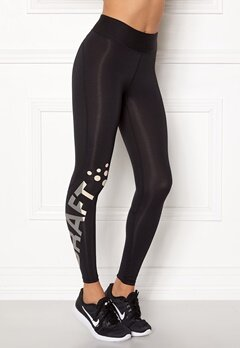 Craft Delta 2.0 Long Tights Black/Champ Bubbleroom.eu