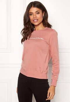 Champion Crewneck Sweatshirt Rose Tan (RTN) Bubbleroom.eu