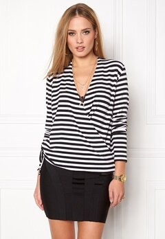 Stylein Croydon Top Striped White Bubbleroom.eu