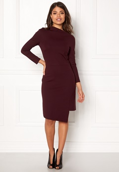 DAGMAR Arcelia Dress Oxblood Bubbleroom.eu