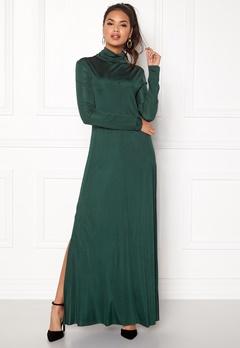DAGMAR Joan Dress Emerald Green Bubbleroom.eu
