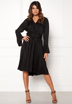 DAGMAR Josephine Dress Black Bubbleroom.eu