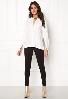 DAGMAR Vera Blouse Off White Bubbleroom.eu