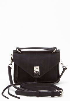 Rebecca Minkoff Darren Group Leather Bag 001 Black/Silver Bubbleroom.eu