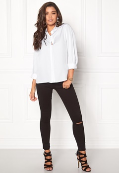 D.Brand Agnes Shirt White Bubbleroom.eu