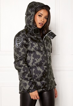 D.Brand Eskimå Camo Jacket Black Camo Bubbleroom.eu