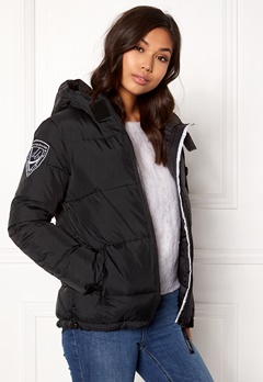 D.Brand Eskimå Jacket Black/Black Bubbleroom.eu