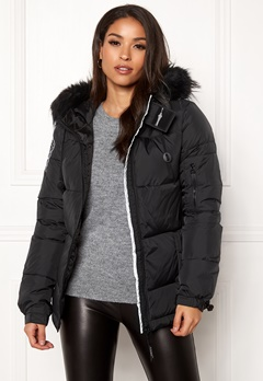 D.Brand Eskimå Short Jacket Black/Black Bubbleroom.eu