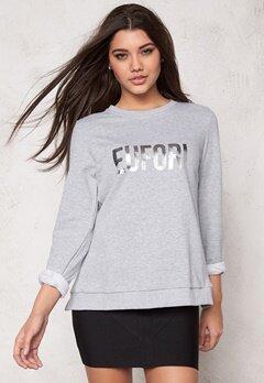 D.Brand Eufori Sweatshirt Grey Bubbleroom.eu