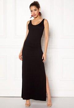 VILA Deana S/L Maxi Dress Black Bubbleroom.eu