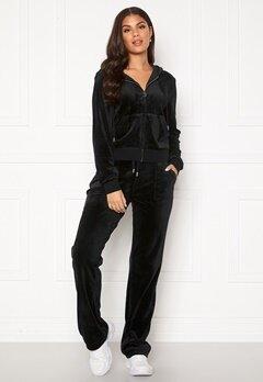 Juicy Couture Del Ray Classic Velour Pant Black Bubbleroom.eu