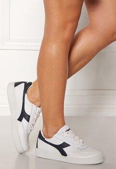 Diadora B.Elite Shoes White/Blue Denim Bubbleroom.eu