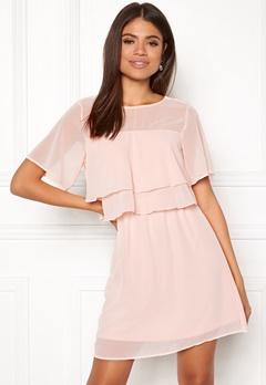 VERO MODA Dora SS Short Dress Sepia Rose Bubbleroom.eu