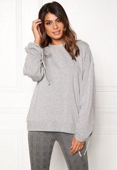 Dr. Denim Aisie Sweater Light Grey Mix Bubbleroom.eu