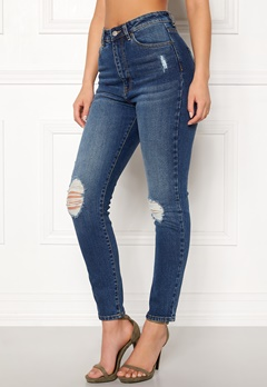 Dr. Denim Cropa Cabana Ocean Blue Ripped Bubbleroom.eu