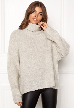 Dr. Denim Edlyn Knit Light Grey Mix Bubbleroom.eu
