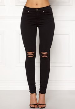 Dr. Denim Lexy Black Ripped Knees Bubbleroom.eu