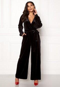 Dr. Denim Lucida Jumpsuit Black Velvet Bubbleroom.eu