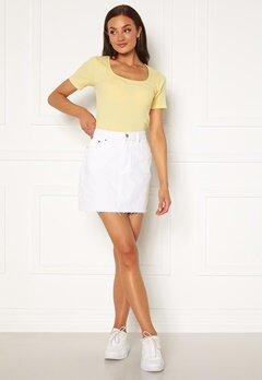 Dr. Denim Mallory Denim Skirt 199 White Bubbleroom.eu