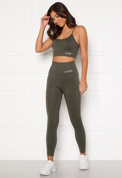 Drop of Mindfulness Cora seamless leggings Dark Olive Bubbleroom.eu