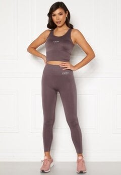 Drop of Mindfulness Cora seamless leggings Dusty plum Bubbleroom.eu