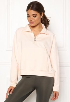 Drop of Mindfulness Essa Zipped Sweater 518 Pink Stone Bubbleroom.eu