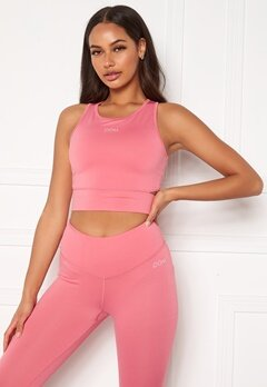 Drop of Mindfulness Melanie Sports Bra Pink Coral Bubbleroom.eu