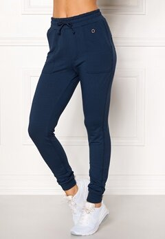 Drop of Mindfulness Monroe Sweatpants Navy Bubbleroom.eu