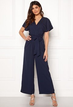 DRY LAKE Ada Jumpsuit Navy Jaquard Bubbleroom.eu