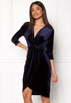 DRY LAKE Angelina Dress Navy Velvet Bubbleroom.eu