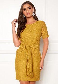 DRY LAKE Daisy Dress 715 Yellow Lace Bubbleroom.eu