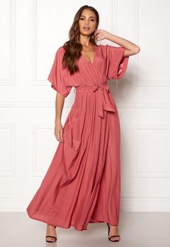DRY LAKE Florence Dress Dull Pink Bubbleroom.eu