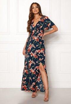 DRY LAKE Jasmin Long Dress Petal Print Bubbleroom.eu
