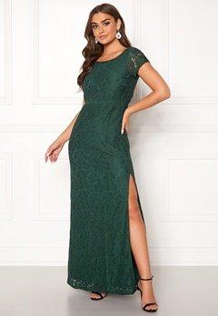 DRY LAKE Mira Long Dress 325 Emerald Green Bubbleroom.eu