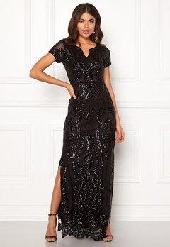 DRY LAKE Miramis Long Dress 001 Black Bubbleroom.eu