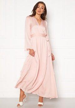 DRY LAKE Robyn Long Dress 526 Pink Pale Bubbleroom.eu