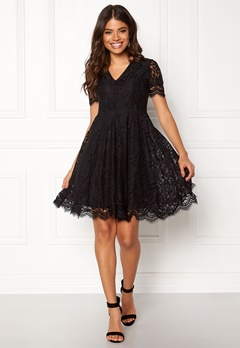 DRY LAKE Serena Dress Black Lace Bubbleroom.eu