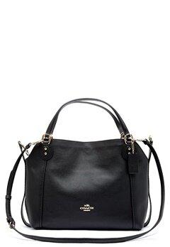 COACH Edie Leather Bag LIBLK Black Bubbleroom.eu