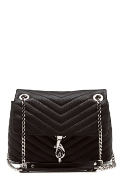 Rebecca Minkoff Edie Xbody Pebble Bag Black Bubbleroom.eu