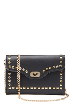 ONLY Elisa Stud Crossbody Bag Black/Gold Bubbleroom.eu